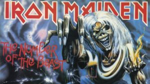 Biblical advisory, explicit lyrics : Iron Maiden – The Number Of The Beast